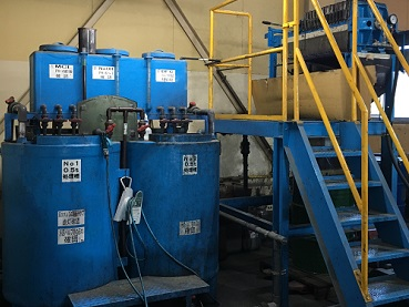 排水処理装置五右衛門0.5tツイン型